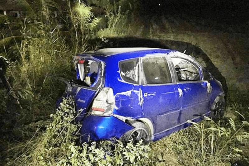 DRIVER FLEES CRASH SCENE AFTER KILLING HUA HIN FAMILY OF FIVE