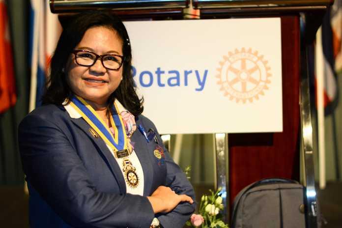Napa Keawtem Begins Her Presidency of the Rotary Club of Royal Hua Hin