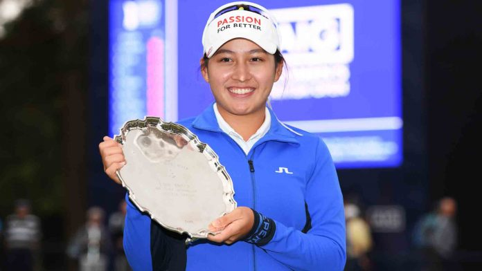 Atthaya Thitikuo the Leading Amateur at the Women's British Open