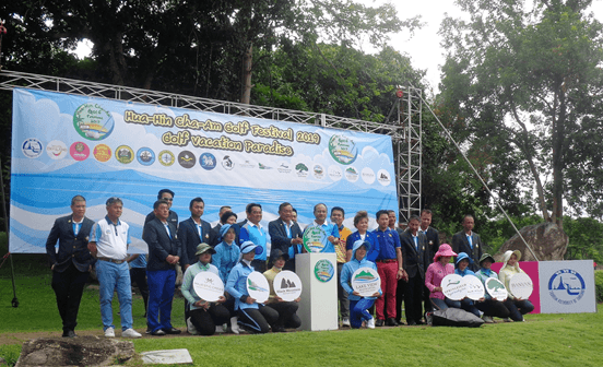 2019 Hua Hin and Cha-Am Golf Festival Begins