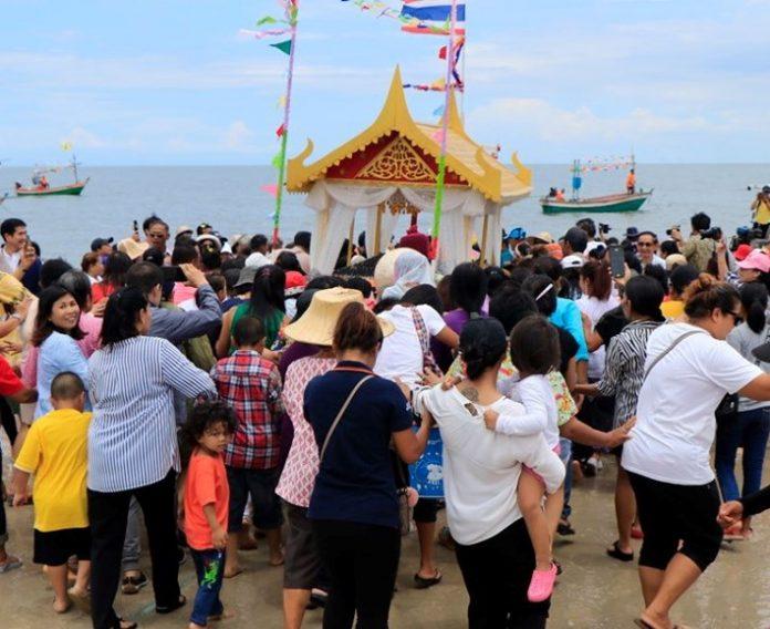 Celebrating Hua Hin's Fishing Community - 'Making Merit, Floating Bad Luck Away'