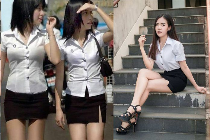 Thai Schoolgirls Told To Dress More 'Appropriately'