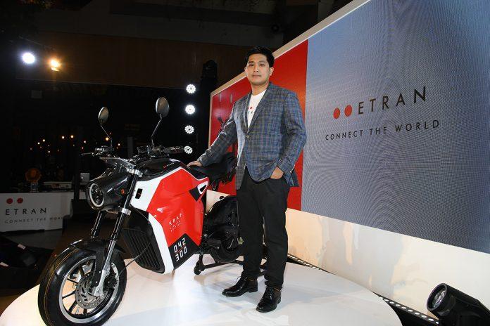 Etran; An Environmentally Friendly Electric Motorcycle