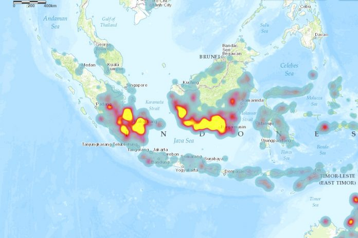 Fire Hotspots Detected Across the ASEAN Region, Including Thailand