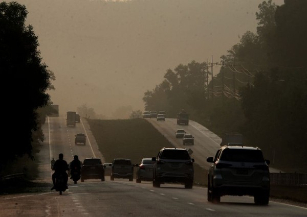Smog from Indonesia a Problem for Southern Thailand