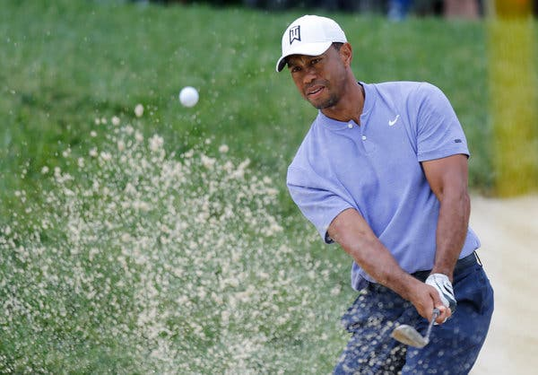 Tiger is Back in Action at This Week's PGA Tournament