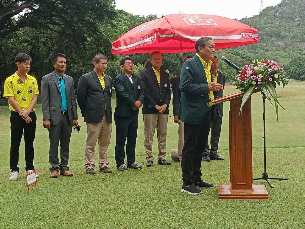 TEEING OFF THE 19TH HUA HIN & CHA-AM Golf FESTIVAL