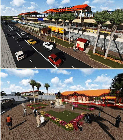 About the New Hua Hin Railway Station