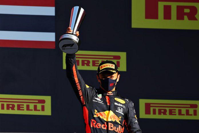 ALBON ACHIEVES THAILAND'S FIRST F1 PODIUM FINISH