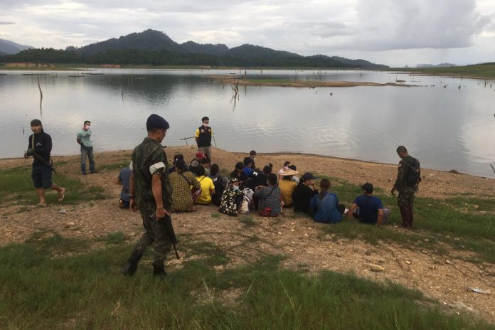 BIG INCREASE IN ILLEGAL CROSSINGS FROM MYANMAR INTO NORTHERN PROVINCES