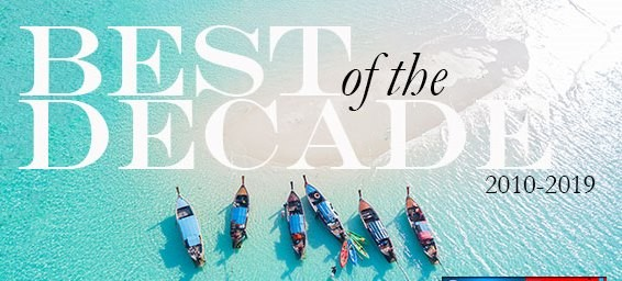 ROYAL COAST WINNERS IN THE 'BEST OF THE DECADE' TRAVEL AWARDS
