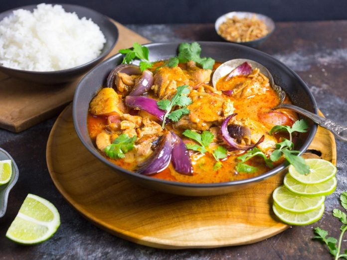 THAI MASSAMAN CURRY; CROWNED AS THE 'KING OF CURRIES'