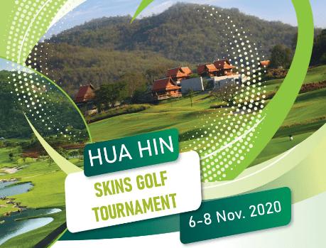 NOVEMBER HUA HIN SKINS GOLF TOURNAMENT