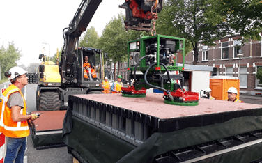 PLASTIC WASTE DESTINED FOR ROAD CONSTRUCTION