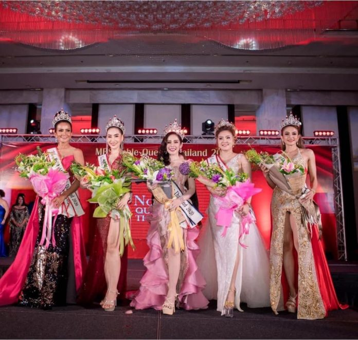 MRS NOBLE THAILAND 2020; BEAUTY & POISE AFTER MARRIAGE