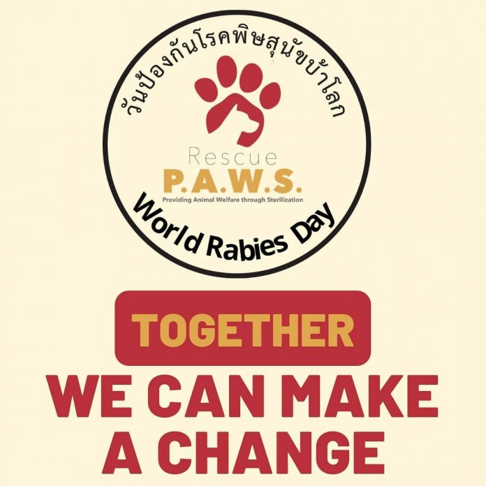 WORLD RABIES DAY 2020 – IS YOUR PET VACCINATED?