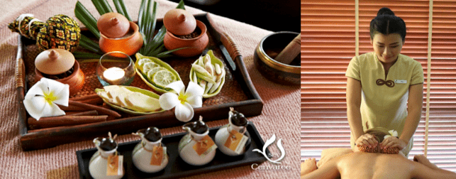 "SPA CENVAREE ""SALT POT TREATMENT"""