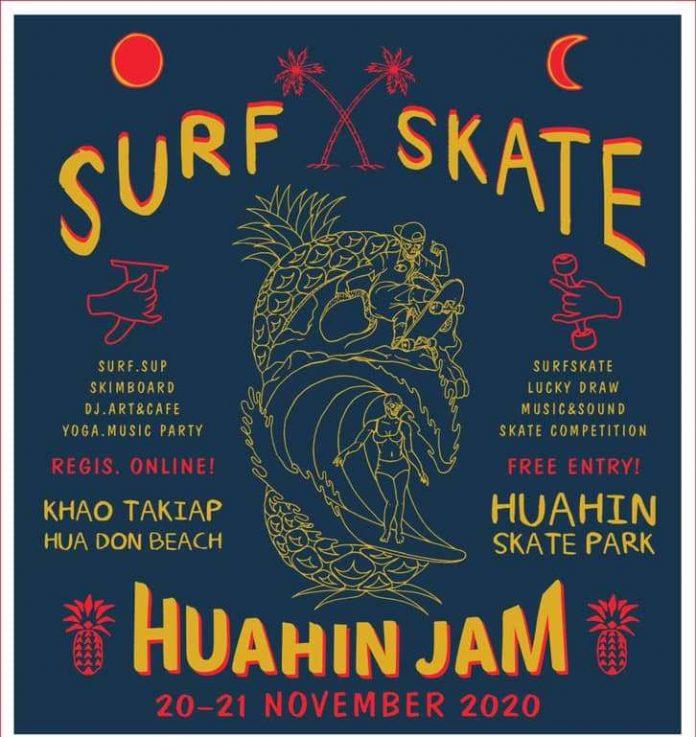 HUA HIN SURF & SKATE JAM 2020