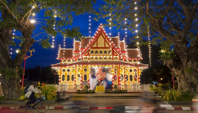 SIX DAYS TO OBSERVE THE BIRTHDAY AND MEMORY OF KING RAMA IX