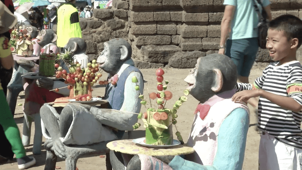 The Monkey Festival Bringing Good Fortune to Thailand