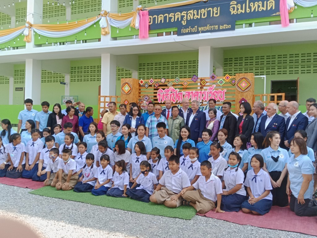 ROTARY'S BIGGEST EDUCATION PROJECT REACHING FRUITION