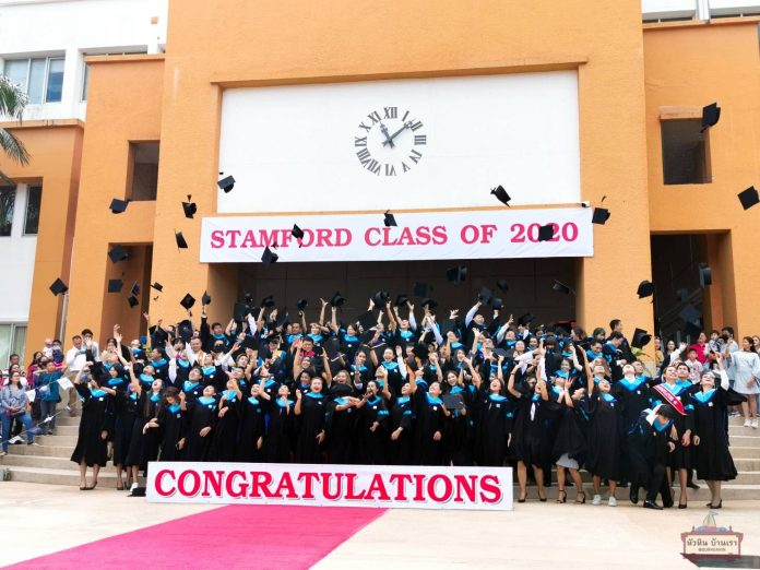 THE STAMFORD INTERNATIONAL UNIVERSITY CHA-AM CAMPUS CLASS OF 2020