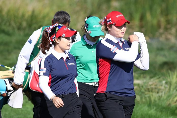 SIX WOMEN GOLFERS FROM THAILAND TEE-OFF AT US WOMEN'S OPEN