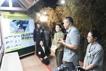HM QUEEN SUTHIDA VISITS LAEM PAK BIA ROYAL PROJECT IN PHETCHABURI