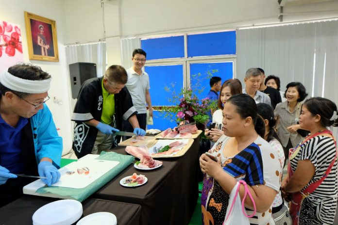 THAILAND'S GROWING APPETITE FOR JAPANESE FOOD