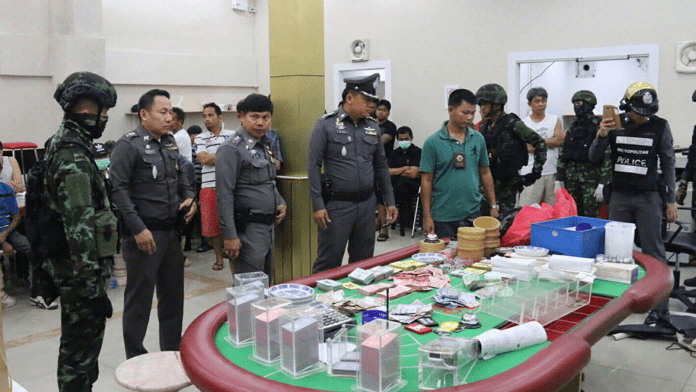 GAMBLING DENS IN THAILAND; POLICE REFORM MUST BE PART OF ANY SOLUTION