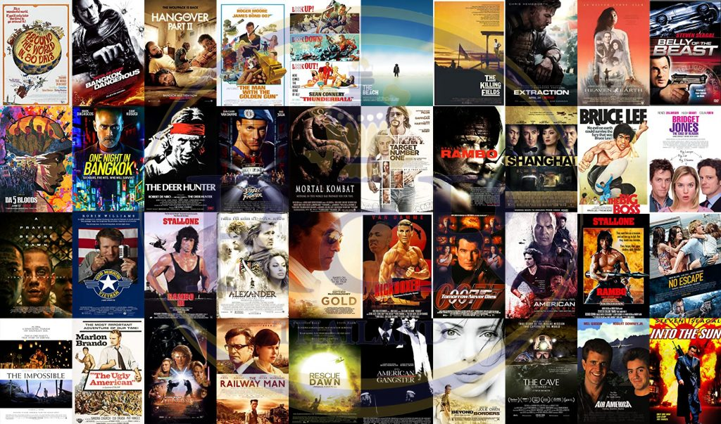 Thailand Movie Posters - Royal Coast Review