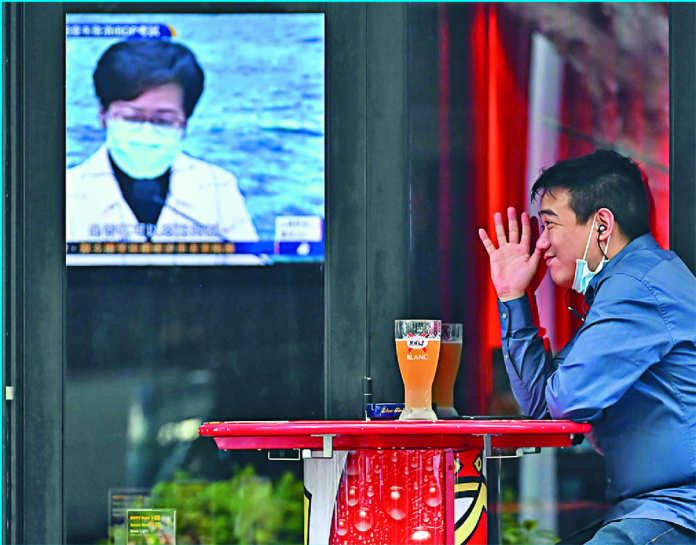 BUSINESSES BEING HURT BY BANS ON ALCOHOL CONSUMPTION IN RESTAURANTS