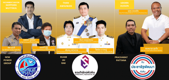 HUA HIN MAYORAL ELECTION UNCERTAINTY