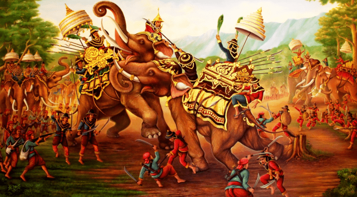 THAI ARMED FORCES DAY – CELEBRATING THE GREAT ELEPHANT BATTLE OF 18th JANUARY 1593