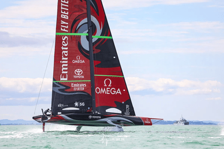 AMERICA'S CUP RACING HAS BEGUN AT THE 'CITY OF SAILS'