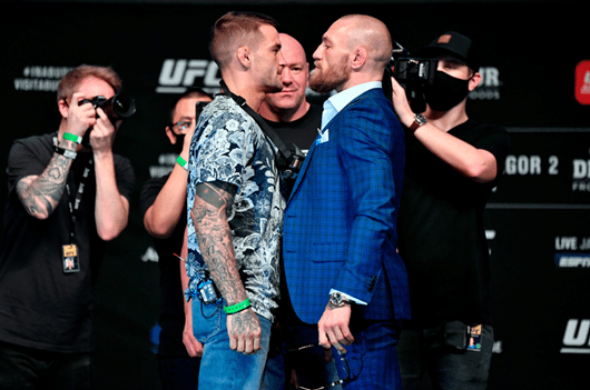 THE DIAMOND TAKES ON THE NOTORIOUS – POIRIER V MCGREGOR ON SUNDAY