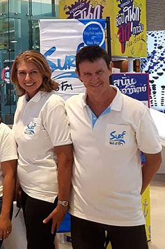 THE FACES BEHIND THE ROYAL COAST'S RADIO - SURF 102.5 FM