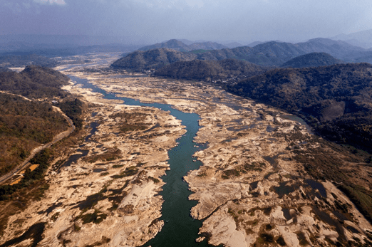 "MANIPULATING FLOW IN THE MEKONG - ""DISRUPTING THE ECOLOGY OF THE RIVER"""