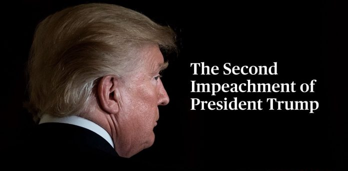 """IMPEACHED US PRESIDENT NOW SAYS """"REMAIN PEACEFUL"""""""