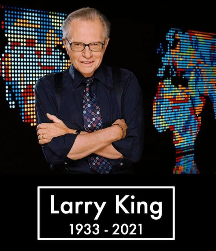 LARRY KING, US VETERAN OF TV AND RADIO DIES AT THE AGE OF 87