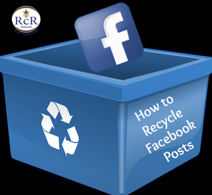 RECYCLING MADE EASY – CHECK OUT THE HUA HIN RECYCLING CHAIN FACEBOOK PAGE