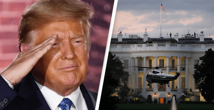 PRESIDENT TRUMP LEAVES THE WHITE HOUSE AS THE FIRST US PRESIDENT TO BE IMPEACHED TWICE