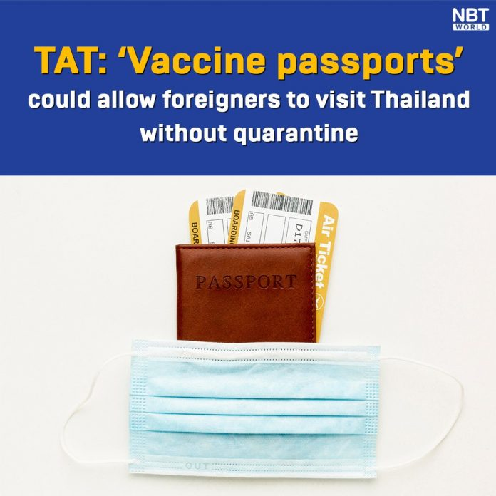 VACCINE PASSPORTS SUPPORTED BY TAT