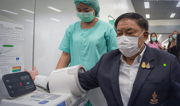 FIRST VACCINATIONS IN BANGKOK STARTING IN MARCH