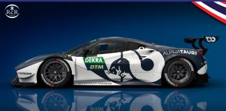 Red Bull Ferrari Alex Albon DTM - Royal Coast Review