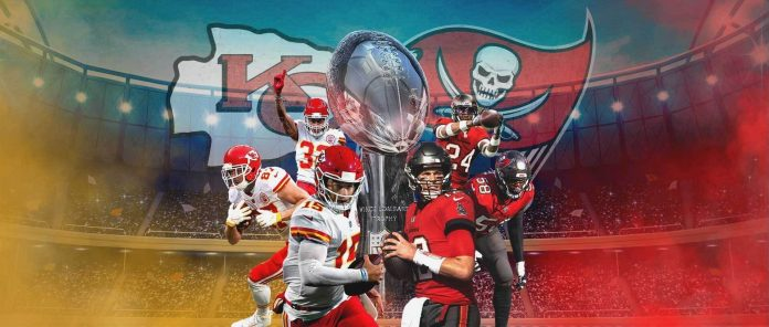 US FOOTBALL SUPERBOWL ON MONDAY: TAMPA BAY BUCCANEERS V KANSAS CITY CHIEFS