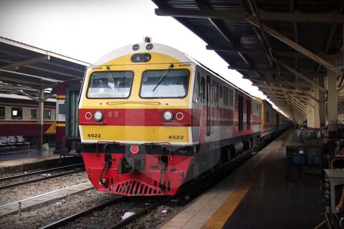 SOME TRAIN SERVICES RESUME MONDAY