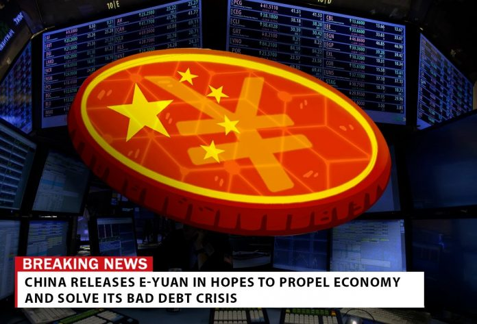 CHINA ADOPTS GOVERNMENT BACKED CRYPTOCURRENCY