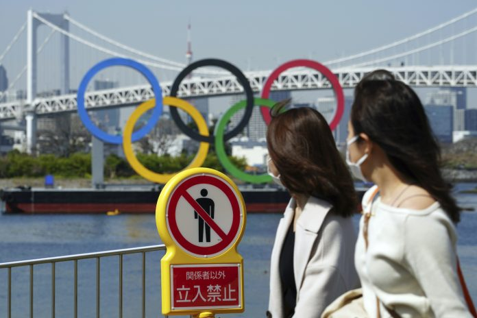 NO FOREIGN SPECTATORS AT THE TOKYO OLYMPICS