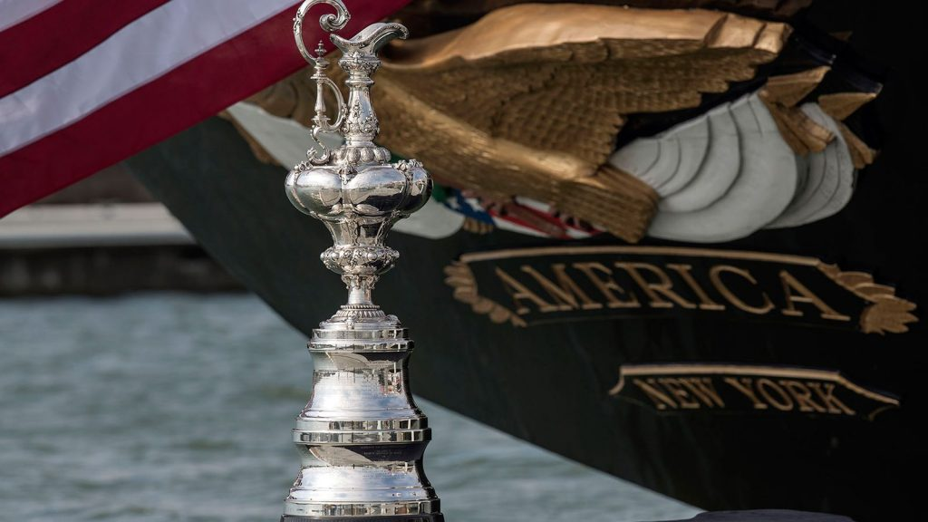 TEAM NEW ZEALAND RETAINS THE WORLD'S OLDEST SPORTING TROPHY
